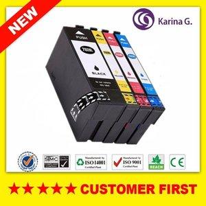 Por compatível T702XL T702 cartucho de tinta Para WorkForce Pro WF-3720 WF-3725, etc.