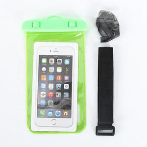 Multicolor Air Bag Mobile Phone Waterproof Transparent Small Waterproof Bag