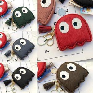 Znqil Wasserdichte Nette Einfache Gesichtsmünde Geldbörse Mini Aufbewahrungstasche Karte Tragbare Tasche Kiss Lock Designer Münze Billigung