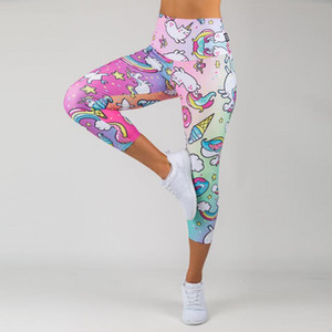 New Style Summer Fashion Elastic Force Polyester Fitness Ladies Leggings Workout Breathable Sporting Skinny Leggings For Women Y1202