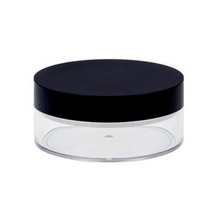 1PC 50G بلاستيكية فارغة بودرة وعاء مع المنخل مستحضرات التجميل ماكياج جرة الحاويات سفر إعادة الملء عطر مستحضرات التجميل المغربل GWD3042