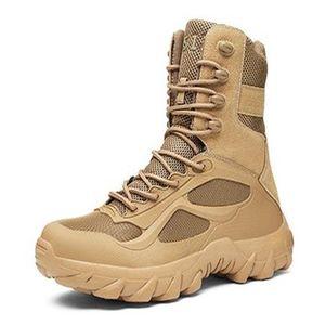 Autunno uomini all'aperto antiscivolo escursionismo deserto stivali campo arrampicata da caccia allenamento tattico scarpe da combattimento scarpe da combattimento grande taglia 39-48