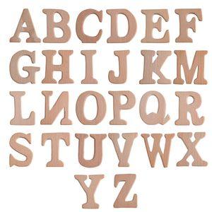 26 alphabet alphabet bois baby bébé bébé enfant fait à la main hêtre dentition jouet bébé bricolage bricolage bois dents dents