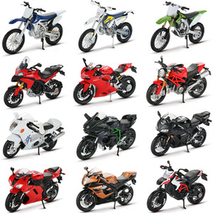 Maisto 1:12 Alloy Model Toy Motorbike Ninja H2R CBR600RR YZF-R1 Motorcycle Racing Car Models Cars Toys For Children Y1130