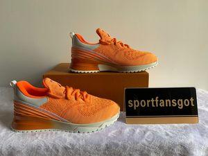 Ayakkabı 2021 Çiftler Sneakers VNR Kadın Erkek Eğitmenler Up Örgü Beyaz Siyah Koşu Koşucu Dantel Kutusu Ile DWDBQ