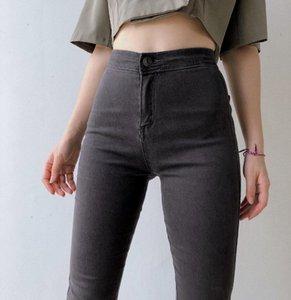 Jeans pour femmes taille haute maigre maigre stretch pour femme denim pantalon crayon élastique push up jeggings