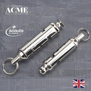 ACME SCOUT49.5 47.5 Girl Scout Metal Seamless Welding Whistle Laser Lettering Fashion Accessories Pendant Hanging Chain Whistle