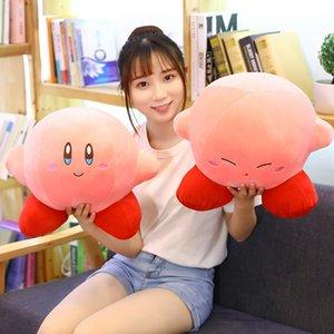 10 25 35cm Cute Game Kirby Star Plush Pillow Toys Stuffed Soft Cartoon Plush Pendant key Chain Dolls Sofa Cushion Kids Gift