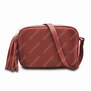 Sıcak Moda Kadınlar PU Deri Püskül SOHO Çanta Disko Omuz Çantası Çanta Çanta Toz Çanta ile 6 Renkler