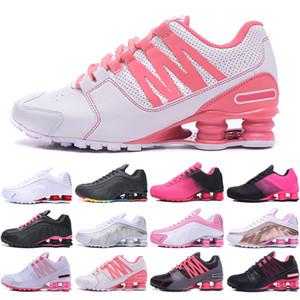 Shox 809 803 R4 Livraison gratuite Chaussures femmes 809 Avenue NZ R4 actuel Livrer 802 808 NZ OZ Air RZ Femmes Grirls Sneakers Taille Venez 05.05 à 08.05 Sans boîte