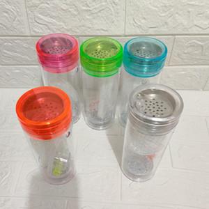 2020 Wholesale Light up Travel Portable Plastic Hookah LED Hookah Shisha Cup Set for Car Smoking portable hookah bottle