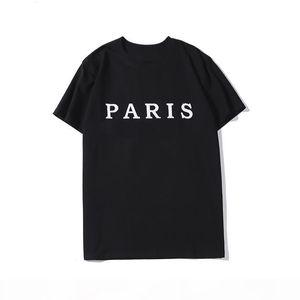 Mens Stylist T Shirt Fashion Letter Printing Mens Stylist Short Sleeves Black White High Quality Men Women Hip Hop Tees