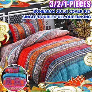 Bohemian Ethnic Style Bedding Set Twin Full Queen King Duvet Cover Pillowcase Bed Sheet Bedroom Decor Home Textile