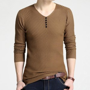 2020 New Sweater Men Autumn Winter Hot Sale Men Pullover Sweater Mens Knitted Plus Size M-4XL