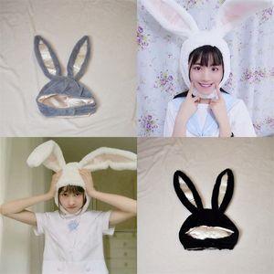 أفخم آذان أرنب الأصالة قبعة الإناث السفر لطيف صور الدعائم القبعات النساء الصلبة اللون الاطفال headgear الساخن بيع 13JS F2