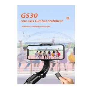 Wholesale GS30 Grip Wireless Bluetooth Remote Gimbal Stabilizer Tripod Adjustable Stand Auto Balance Anti-shake Selfie Stick Holder