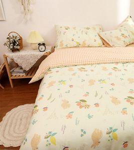 Lovely flower bedding set teen adult girl,cotton twin full queen romantic home textile bed sheet pillow case duvet cover