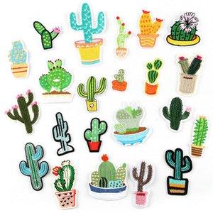 Ricamo panno bastone piccolo pianta cactus abbigliamento accessori accessori patch stick spilla accessori per la lavorazione dei distintivi personalizzati per cuciture