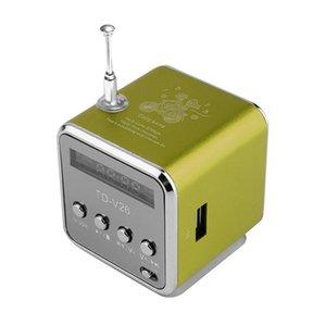 Portable Digital FM Radio Speaker Mini FM Radio Receiver With LCD Stereo Loudspeaker Support Micro