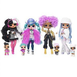 LOL. Surprise! O.m.O. Winter Disco 24K D.j. Fashion Doll & Sister Girls Toys Y200428