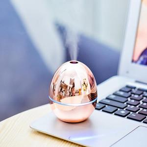USB портативный настольный яичный воздушный увлажнитель эфирных масел диффузоры туман увлажнитель воздуха для домашнего офиса спальня детская комната автомобиль металлический цвет