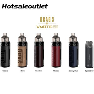 VOOPOO DRAG S Limited Edition With VMATE Pod Kit 4.5ml PnP Pod and 3ml Vmate Pod Cartridge with PnP Coils 100% Original