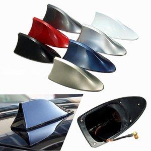 Car Exterior Roof Shark Fin Adhesive Sticker Antenna FM AM Signal Radio Aerial car dvr