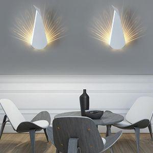 LED Wall Light Fixture for Living Room Modern LED Wall Light Lamp Indoor Lighting Fixture Surface Mount