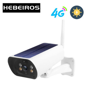 Hebeiros 4G LTE FDD GSM Solar Battery Wireless Camera 1080P Waterproof Outdoor Wifi Camera Security Surveillance CCTV IP