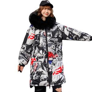 Double Two Sides New Winter Jacket Women Hooded Thicken Fur Female Long Warm Parka Outwear Oversize Coat 201124