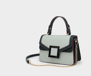 Kadınlar için Crossbody Hit Rengi Yeni Deri Çanta Kadın Çanta Bayanlar Omuz Çantası Kadın Messenger Çanta En Kaliteli SHX-7328 # qian