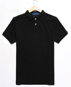 2021 Yaz Tasarımcısı Polo Mens Polo Gömlek için Sıcak Satış Polos Moda Erkek Tops Kısa Kollu Giyim 21 Renk Boyutu S-2XL Yüksek Kalite Tops