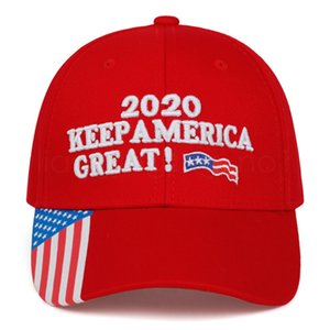 Donald trumps baseball cap USA flag 2020 keep America great again letter embroidered outdoor adult sunhat party favor FFA4077-1