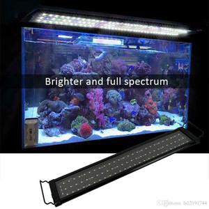 """24"""" 36"""" 48"""" Dimmable Full Spectrum LED Aquarium Light Reef Coral Marine"""