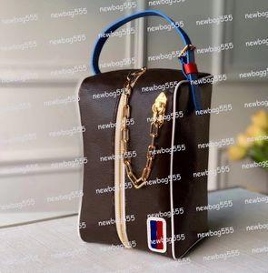 Yeni Tasarımcılar Çanta LXN POLERROOM Çanta Kadın İkonik Çanta Kavramalar Mavi Kemer Zincir Kozmetik Çantası Çanta Fermuar Erkek Haberci Çanta 45588 45583