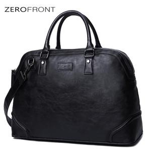 Многофункциональная мощность 2020 мода мужские сумки Zerofront мужские кожи Портфель большой сумка Ноутбук Новый 15 дюймов для мужского коммерческого QSSXC