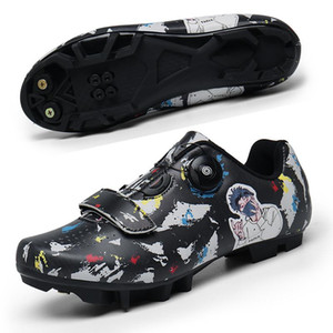 MTB Cycling Shoes Men Outdoor Sports Professional Self-locking Road Bike Sneakers Racing Women Bicycle Shoes Cleat Mountain SPD