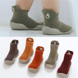 toddler baby fuit sock floor shoes Foot Socks 0-4years 5sizes tz05 Y201001