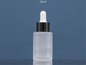 Botella de gotero de 30 ml Pequeño vidrio vacío para botellas de gotero de ojo de aceite Tamaño de viaje recargable Contenedores de aseo