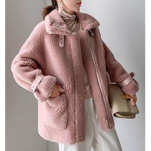 Venda quente mulheres outono inverno casaco quente cor sólida jaquetas quentes feminino casual casual outerwear roupas