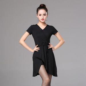 Latin Dance Dress Training Female Adult Modern Ballroom Performance Stage Wear