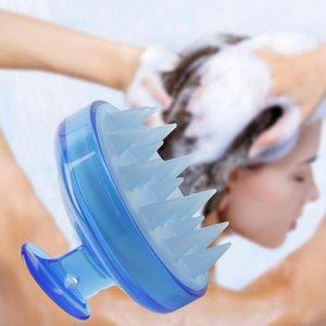 Multi-fonction Minceur Massage Businière Silicone Head Body Shampooing Shampooing Massage Brosse Peigne Peigneuse À Lavage Peigne Combat Peigne Pinceau