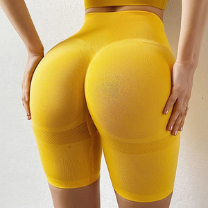 Sexy Yoga Strumpfhosen, Fitness-Shorts, hohe Taille, Frauen-Perikardwolke, Gymnastik-Shorts, Flying Point und Tight Training,