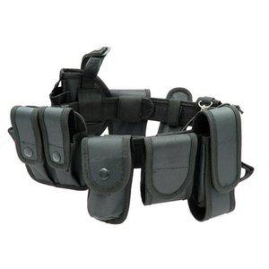 Çok Fonksiyonlu Güvenlik Kemerleri Açık Taktik Eğitim Guard Yardımcı Kiti Görev Kemer Kemer Kese Seti