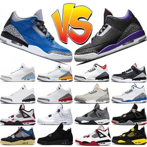 nike air jordan 3 4 basketball shoes 남성 농구화 Jumpman 여성 운동화 Black Cement UNC 4s Neon White Cement 5s Grape 11s Bred 12s University Gold Trainers 스포츠