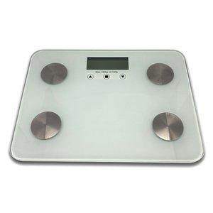 150 кг Smart Code Fat Vales Pattern Pattern 6 мм Стеклянная Жировка Цифровые Электронные Шкалы ЖК-экран F18-01 Цифровые Весы