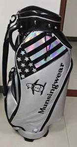 Tigeroar Golf Club أكياس الراقية ماتي بو شظية حقيبة جولف مع عجلات أكياس حامل الجولف السوداء