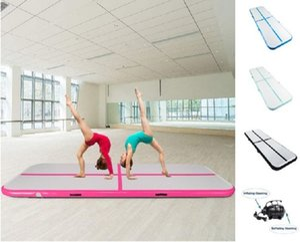 Новый надувной тренажерный зал Airtrack Воздушный трек кувыркающийся пол домашняя гимнастика фитнес-поставки Yoga Mat с насосом