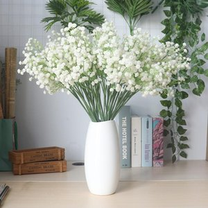 1PC baby's breath Artificial Flower Gypsophila Fake plant for Wedding Home Party Decorations