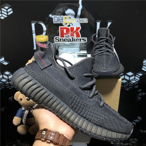 Top quality 2020 Kanye West Men Women Running Shoes Cinder Yecheil Bred Oreo Desert Sage Earth Linen Asriel Zebra Trainers Sneakers with Box